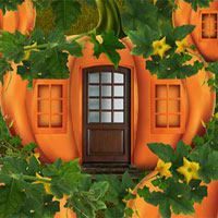 Pumpkin House Witch Escape 5nGames
