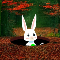 Free online flash games - Easter Bunny Autumn Forest Escape game - WowEscape