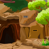 Free online html5 games - GamesZone15 Wolf Forest Escape game