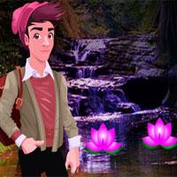 Free online flash games - G4K Mystical Forest Cave Escape