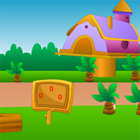 Free online flash games - Village Garden Escape