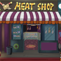 Free online html5 games - Ena The True Criminal Meat Shop Escape game
