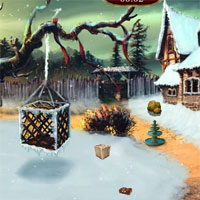 Ena  The Frozen Sleigh-The Protector House Escape