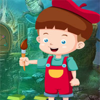 Free online flash games - G4K Painting Baby Escape game - WowEscape