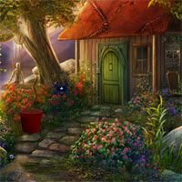 Free online flash games - Fantasy Garden House Escape
