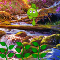 Free online flash games - Creek Lake Forest Escape