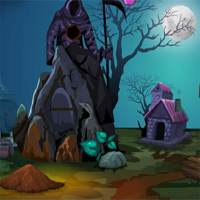 Free online flash games - Games4Escape Halloween Cursed Princess Escape