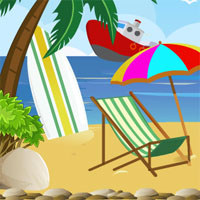 Free online flash games - Escape Beach Resort game - WowEscape