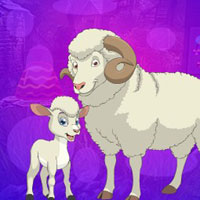 Free online flash games - G4K Sheep And Lamb Escape game - WowEscape