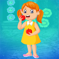 Free online html5 games - Games4king Gorgeous Tiny Girl Escape game