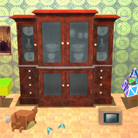 Free online flash games - Vintage Safes House Escape