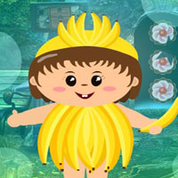 Free online flash games - G4K Banana Costume Boy Escape