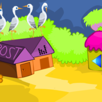 Free online html5 games - G2M Tranquil Village Escape game