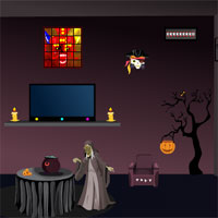 Free online flash games - Yal Witch House Escape game - WowEscape