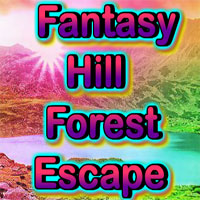 Free online html5 games - Fantasy Hill Forest Escape game