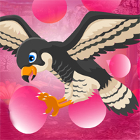 Free online html5 games - Games4King Flying Eagle Escape game