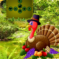 Free online flash games - G2R Pumpkin Turkey Forest Escape