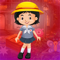 Free online html5 games - Games4King Beautiful Smiling Girl Escape game