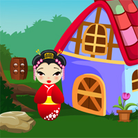 Free online flash games - G4K Chinese Girl Rescue  game - WowEscape