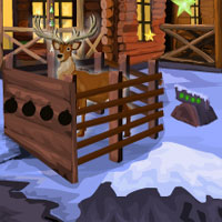 Free online flash games - Christmas Deer Escape Games4Escape
