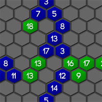 Free online flash games - Hexa Shift game - WowEscape