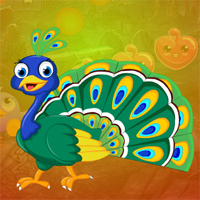 Free online flash games - Games4King Graceful Peacock Escape game - WowEscape