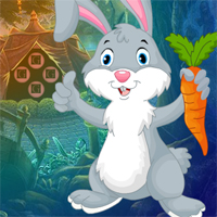 Free online flash games - Carrot Rabbit Rescue