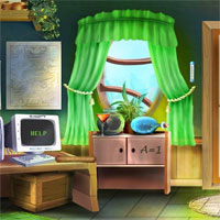 Free online flash games - 365Escape Cartoon Home 2