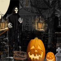 Free online flash games - 365Escape Halloween Night Escape game - WowEscape