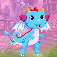 Free online flash games - Games4king Colourful Flying Dragon Escape
