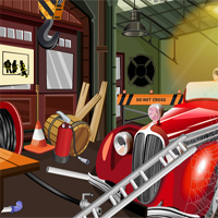 Free online flash games - Old Fire Truck Room Escape