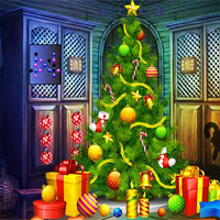 Free online flash games - G4K Christmas Forest Escape