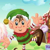 Cute Elf Rescue Games4Kin…