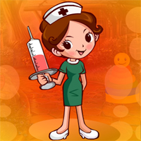 Free online html5 games - Games4king Placid Nurse Escape game