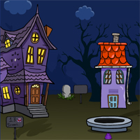 Free online flash games - G2J Girl Rescue from Scary House Escape