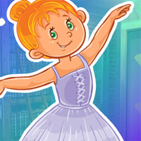 Free online flash games - G4K Dancing Girl Little Girl Escape