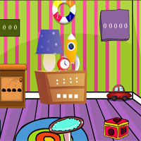 GenieFunGames Kids Play Room Escape