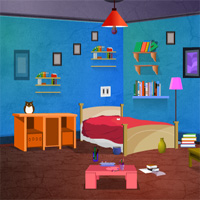Free online flash games - Desirable Blue House Escape game - WowEscape