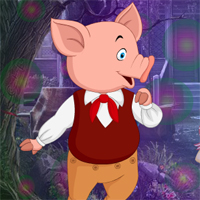 Free online flash games - Games4King Hog Escape