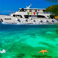 Free online flash games - Games2Jolly House Boat Girl Escape game - WowEscape