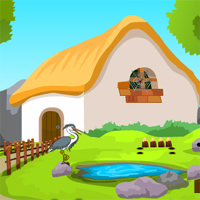 Free online flash games - Games4Escape Forest Guest House Escape
