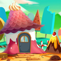 Free online flash games - Beautiful Candlyland Escape