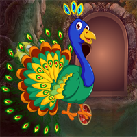 Free online flash games - Games4king Peafowl Rescue