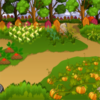 Free online flash games - Thanksgiving Caged Turkey Escape
