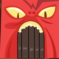 Free online flash games - GenieFunGames Monster Cave Escape