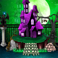Free online flash games - NsrEscapeGames Halloween Castle game - WowEscape