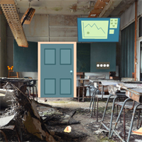Free online flash games - GFG Abandoned Classroom Escape 2