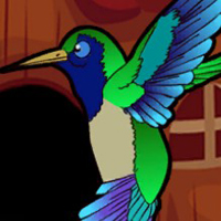 Free online html5 escape games - G2J The Hummingbird Escape