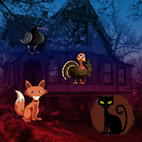 Free online flash games - Big Fantasy Thanksgiving Forest Escape game - WowEscape