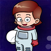 Free online flash games - G4K The Astronaut Escape
